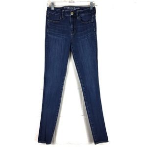 american eagle hi rise jegging 2 long